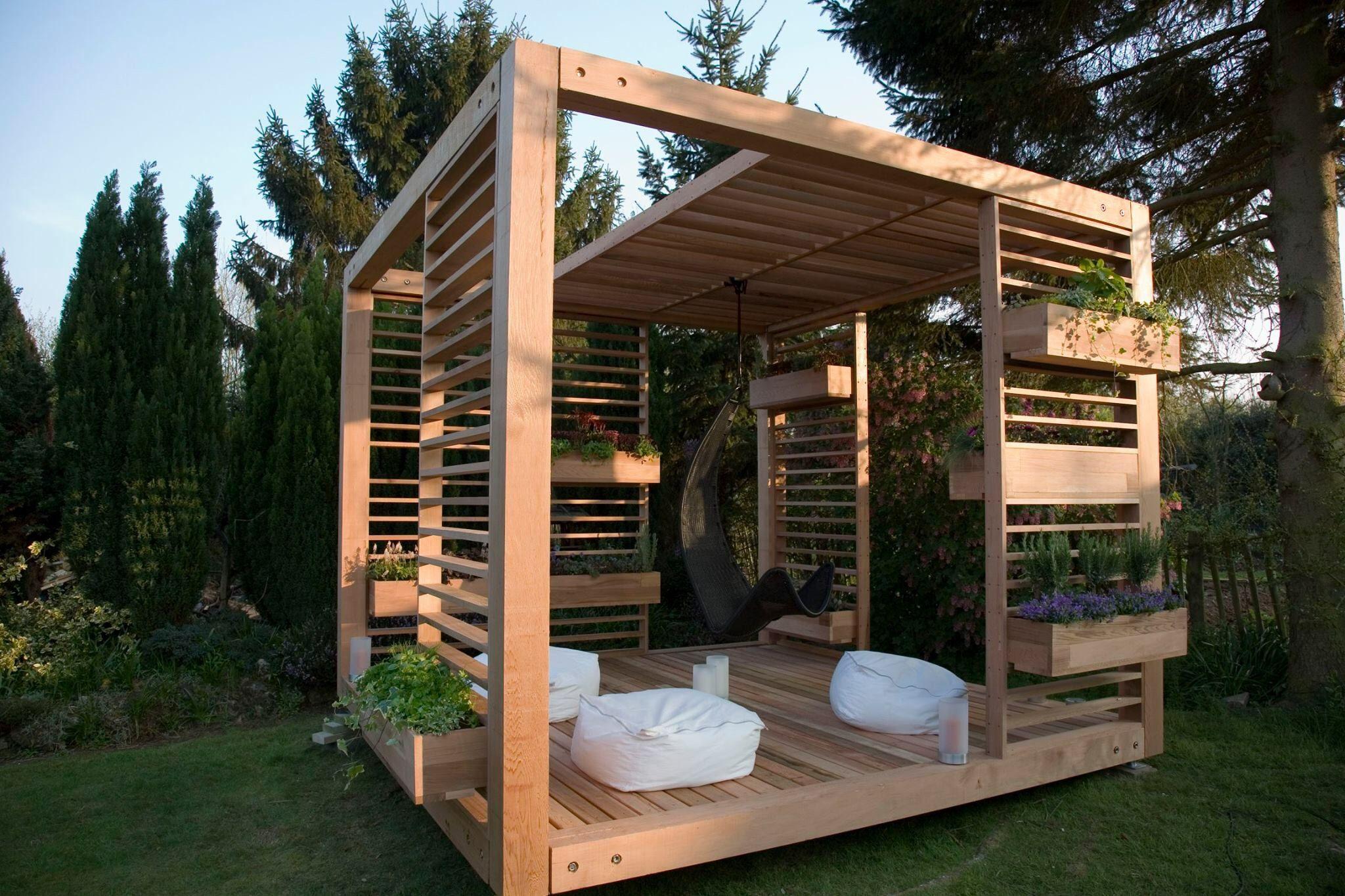 Chilloutecke Fur Den Garten Haus Und Garten Pavillon Ideen Garten Pavillon