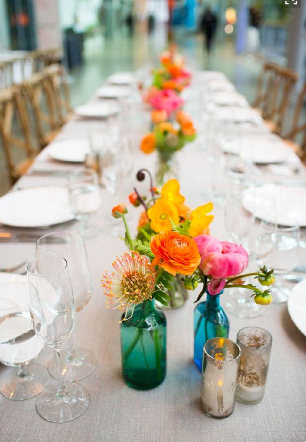 Fall wedding reception decor  Pin by Michaela Turley on TableReception Decorations  Pinterest