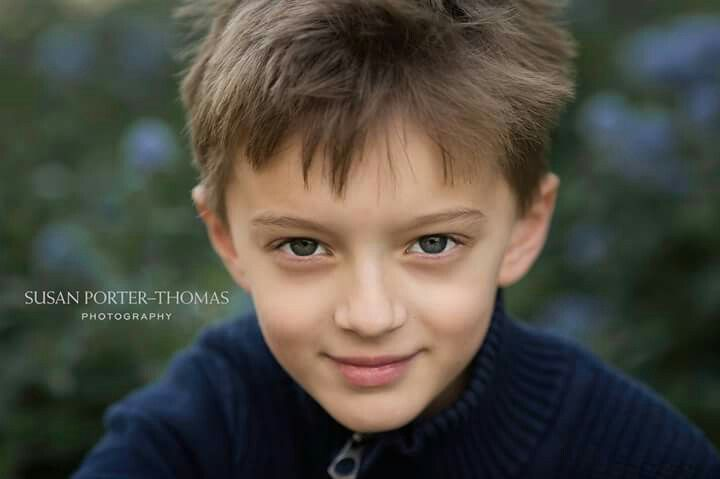 Portrait of a boy close up using Canon 135mm f2 | Children and