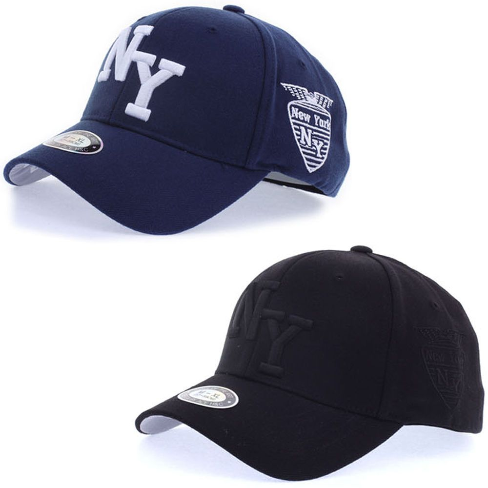 New Mens Womens New York NY Logo Flexfit Cap Baseball Stretch Fit Trucker Hats