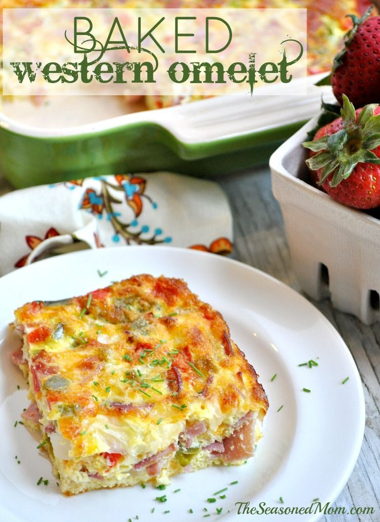 Baked Western Omelet Recipe With Images Recipes Breakfast