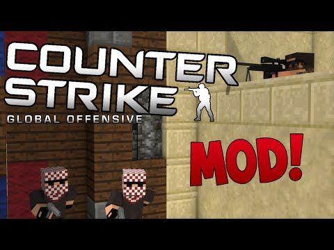 CSGO Mod For Minecraft CSGo Mod Counter Strike Global - Minecraft shooter spiele