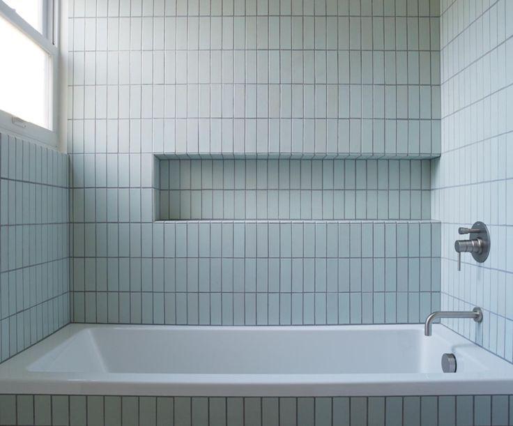 Image Result For Vertical Stacked Tile Fireplace Modern