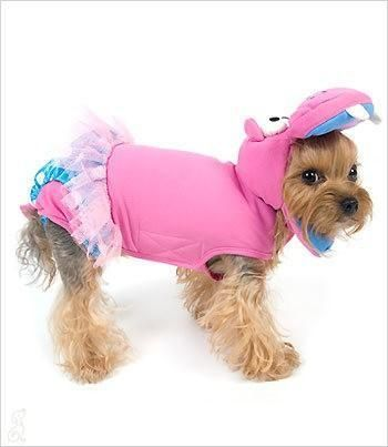 Pink Hippo Hippopotamus Ballerina Costume For Dogs Cute Dog Clothes Hippo Costume Pet Costumes