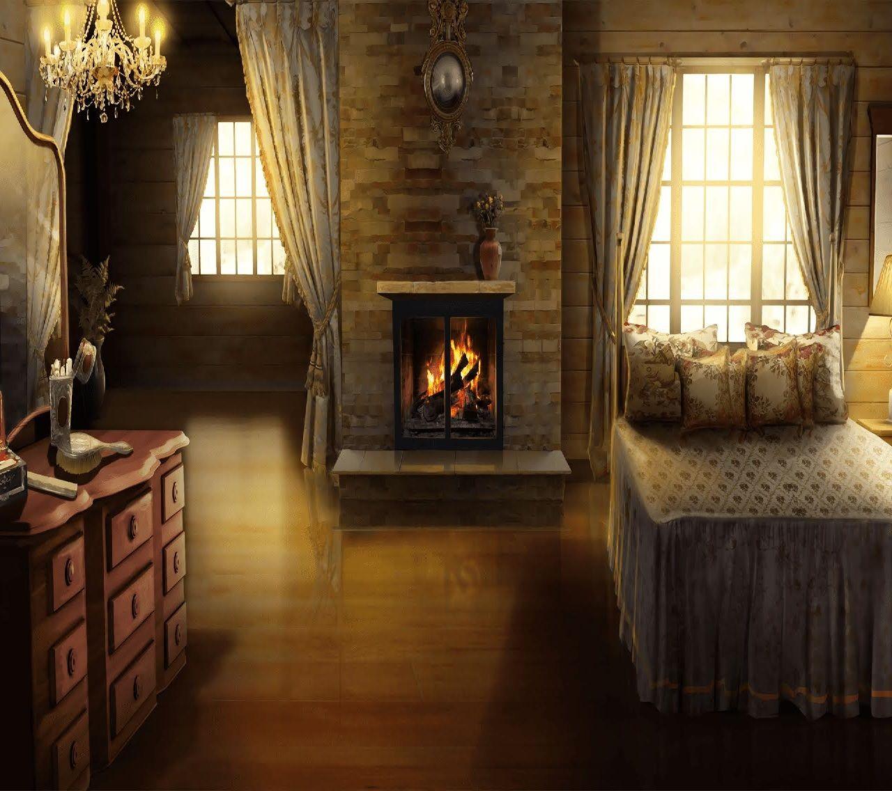 Int Cozy Bedroom Night Med Episodeinteractive Episode
