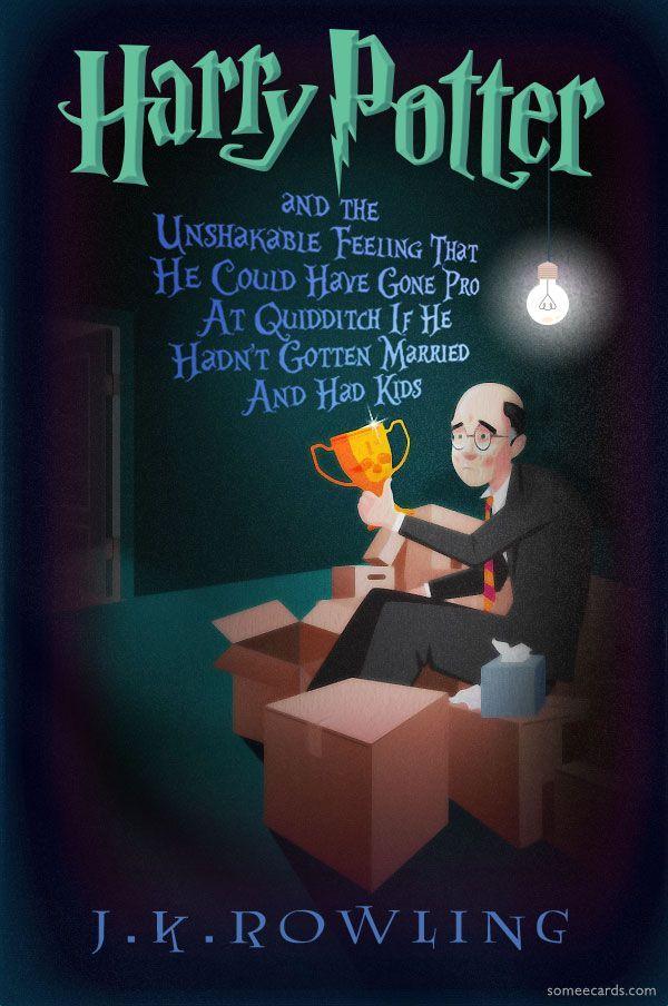 Middle Aged Harry Potter Novels