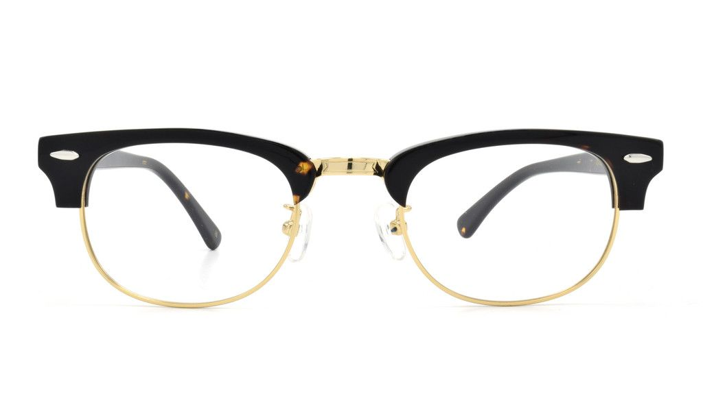 Con estos clásicos lentes de medio marco, lo que te podemos asegurar ...