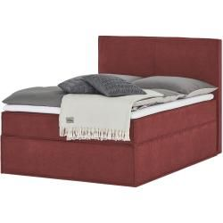 Photo of Box spring bed Boxi ¦ red ¦ Dimensions (cm): W: 140 H: 125 beds> Box spring beds> Box spring beds 140×2