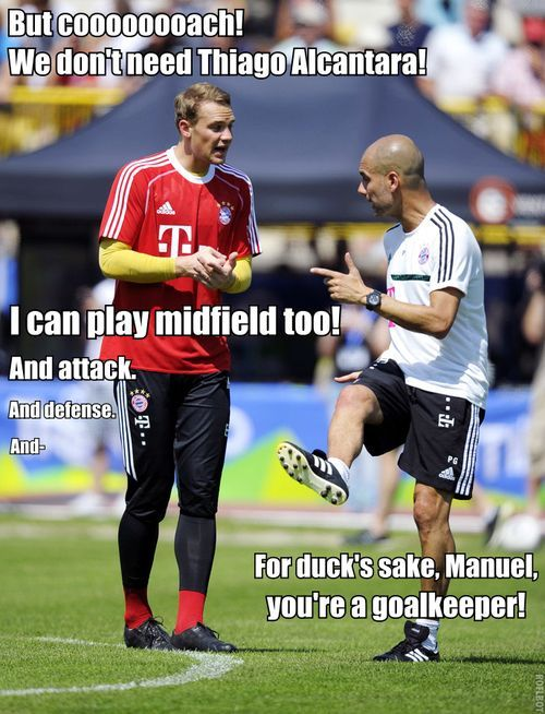 Manuel Neuer Meme