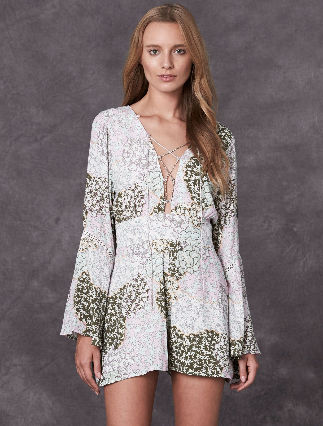 1b48aa57de STEVIE MAY PELAGIC PLAYSUIT from the Vanguard collection. A chic everyday  staple