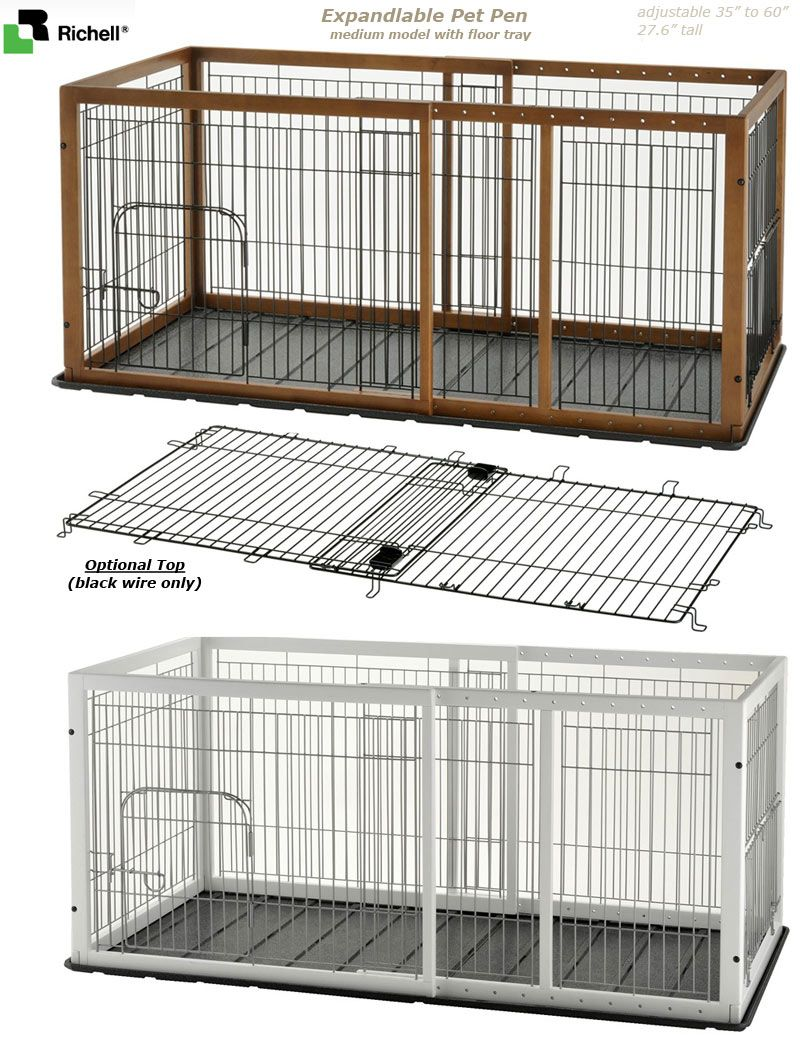 Indoor Dog Pen containment system, medium model | Pet ideas ...