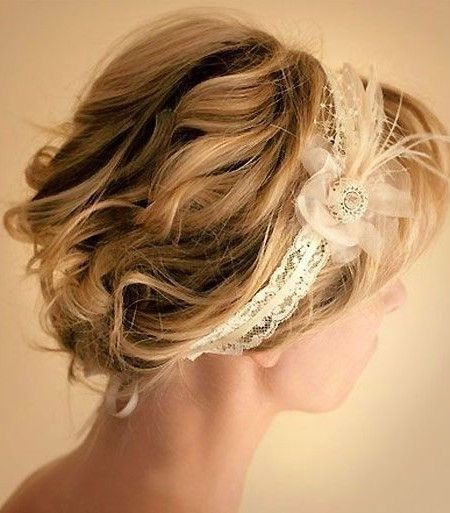 Wedding Hairstyles For Short Hair Glamorous 20 Best Ideas About Wedding Hairstyle For Brides With Short Hair