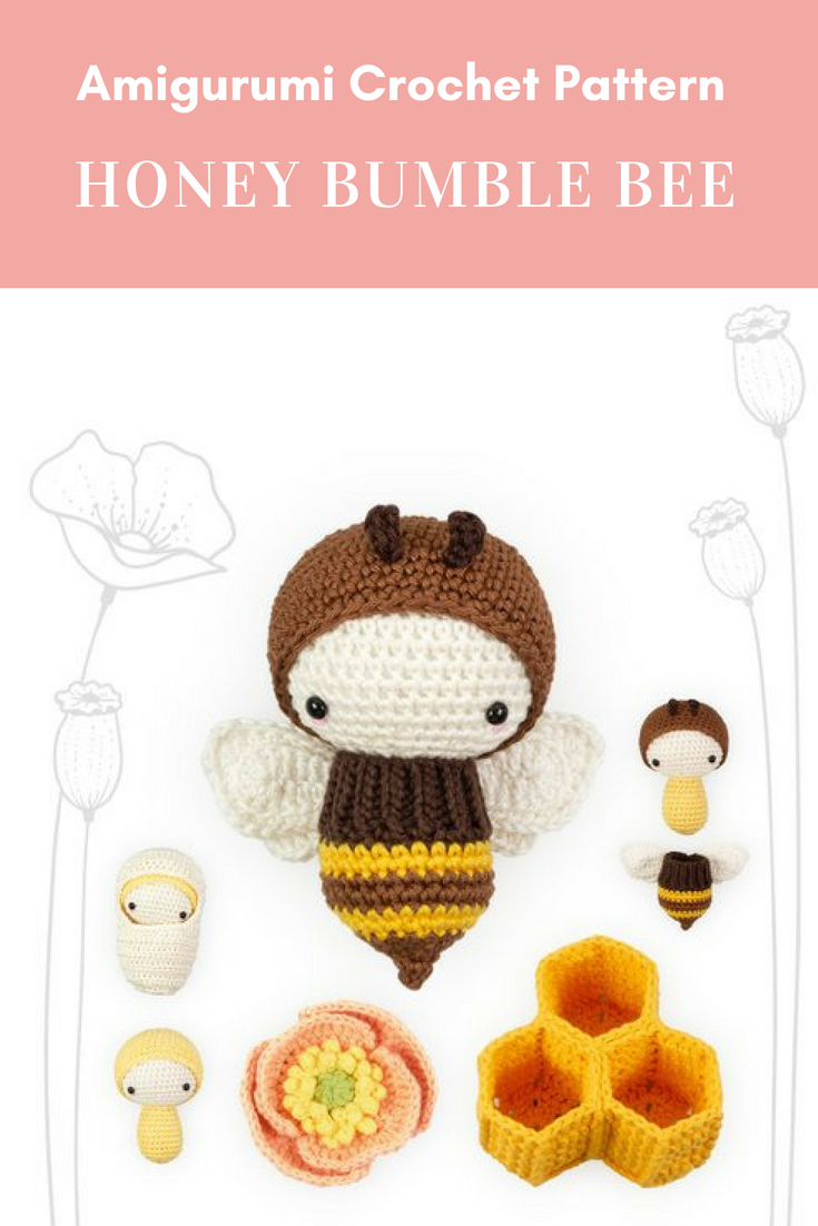 Honey bee amigurumi crochet pattern crochetpattern honey bee amigurumi crochet pattern crochetpattern crochetamigurumpattern amigurumipattern crochet honeybeeamigurumi affiliate ccuart Choice Image