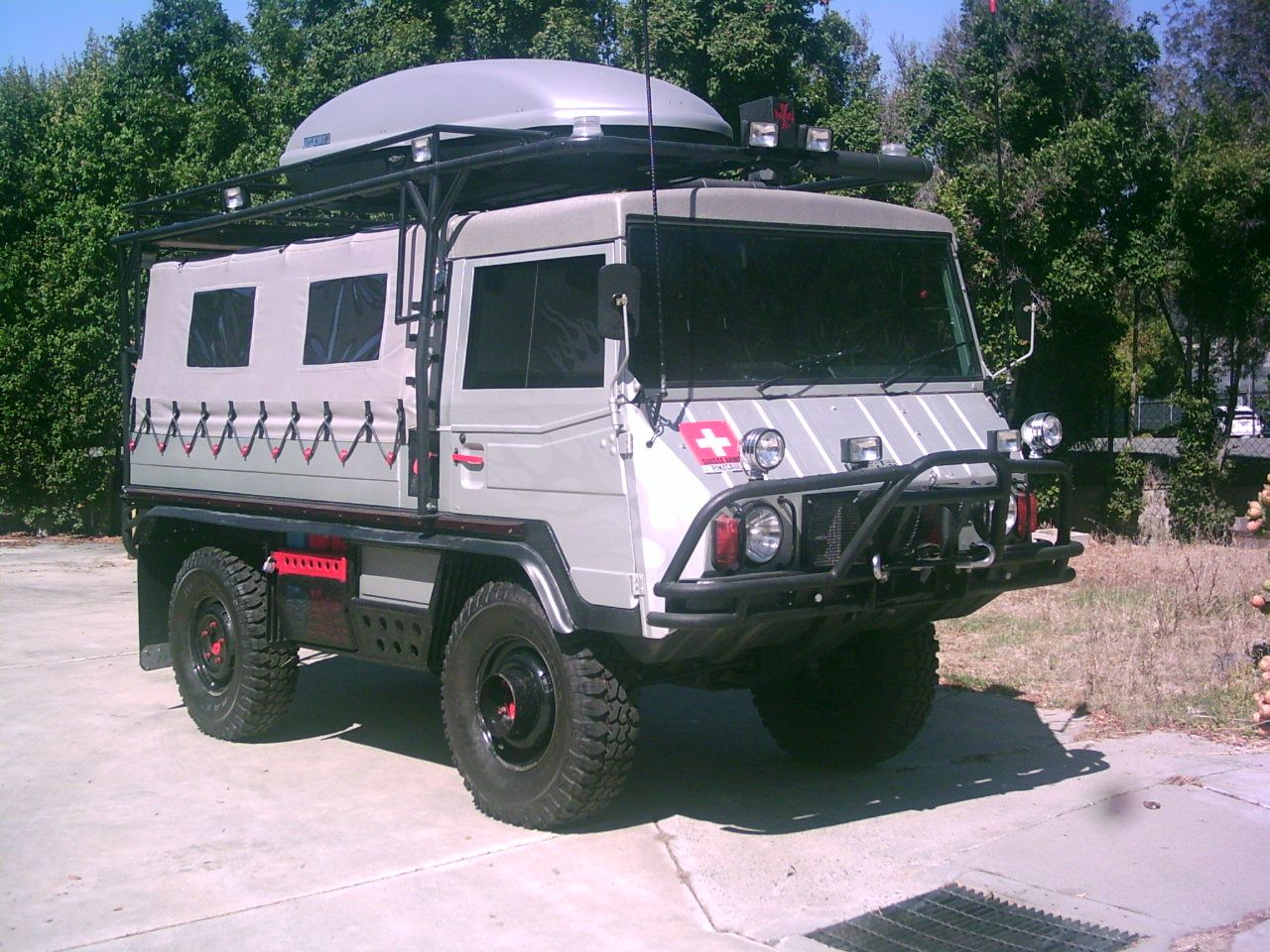 1972 pingauer 710m for sale overland vehicles overland truck expedition truck suv 4x4. Black Bedroom Furniture Sets. Home Design Ideas