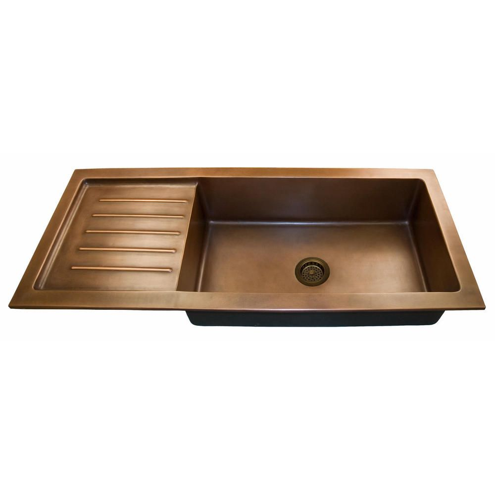 Flat rim for undermount use. (Sink with raised rim is shown.). With ...