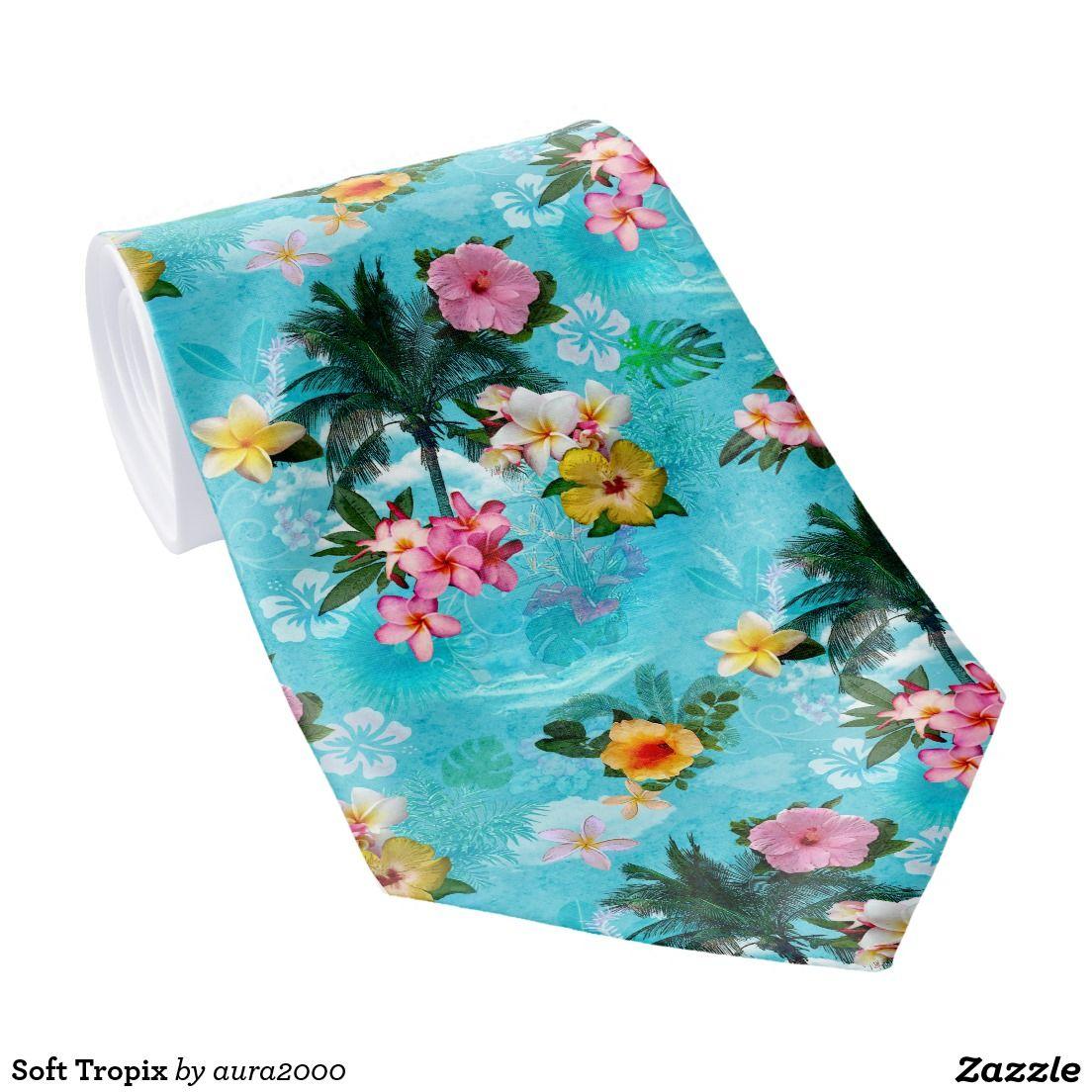 Soft Tropix Tie