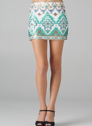 Aztec+Sequin+Pattern+Mini+Skirt,++Skirt,+sequin+skirt++mini+skirt,+Chic