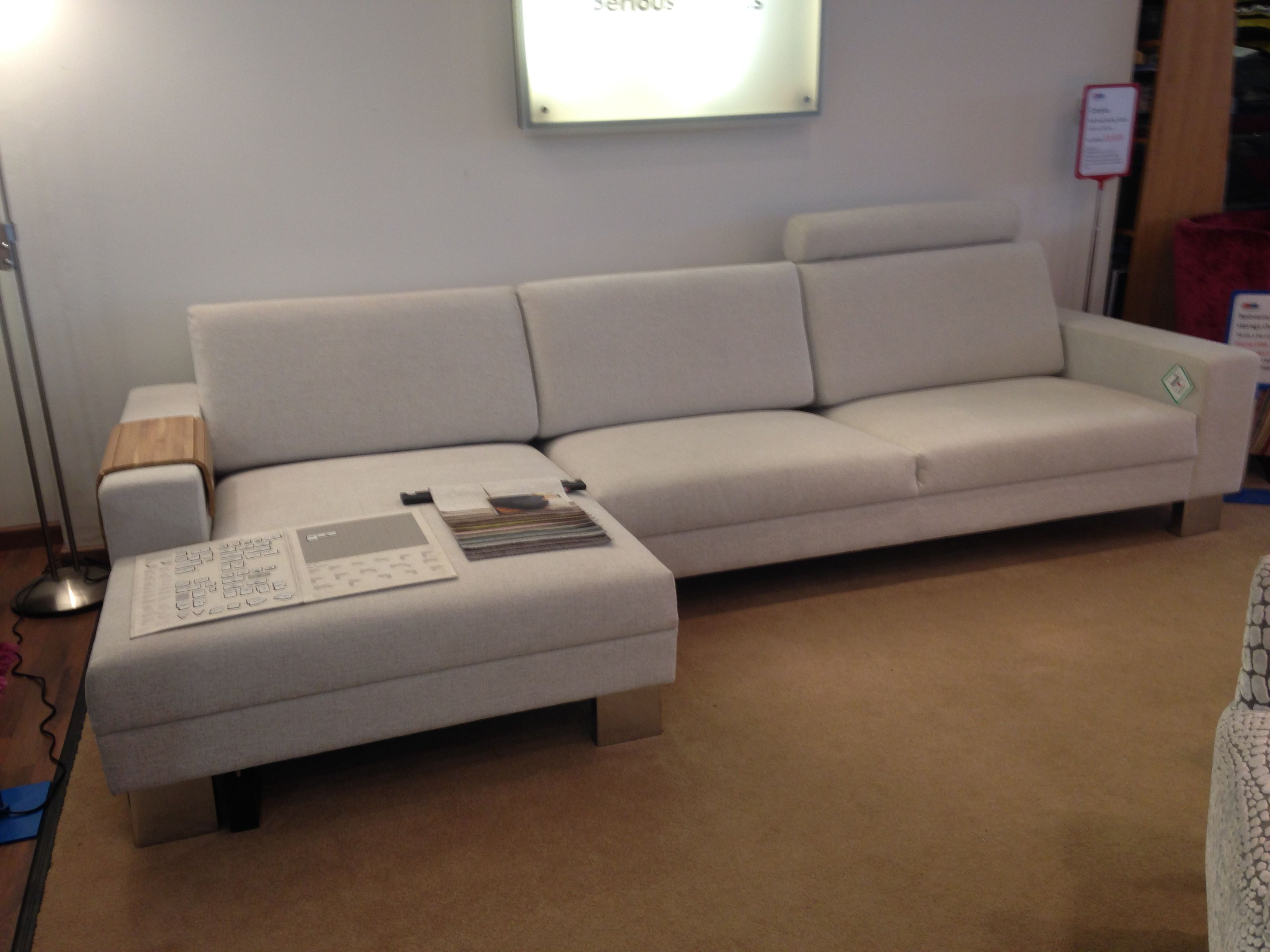 46 deep sofa leather corner bed low contemporary left handed chaise 155 cm x
