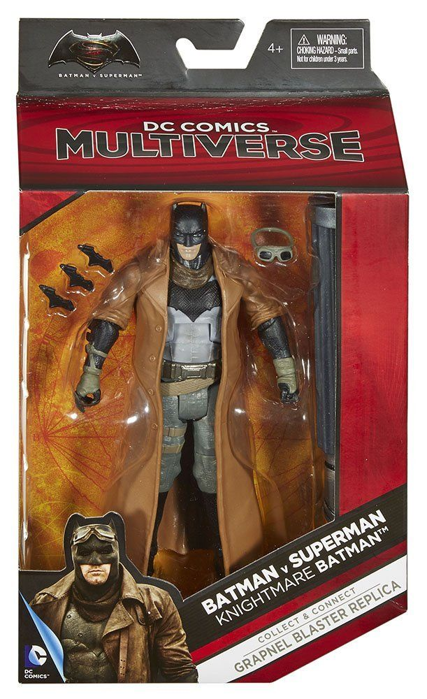 DC MULTIVERSE SUPERFRIENDS SUPERMAN AND AQUAMAN MIB