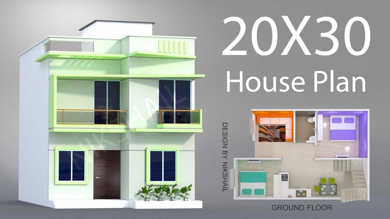 House Design 20 X 30 20x30 house plans