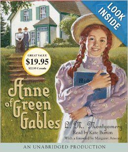 Anne Of Green Gables L M Montgomery Kate Burton 9780739367209