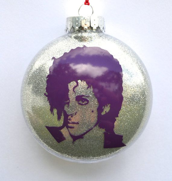 Prince Christmas Decorations.Prince Christmas Tree Ornament Great Gift For Music Lover