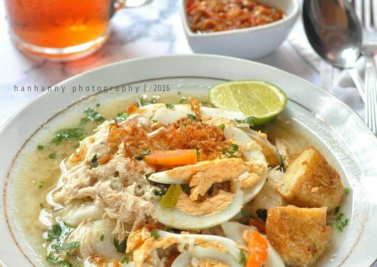 Resep Soto Banjar Oleh Hanhanny Resep Resep Masakan Masakan Makanan