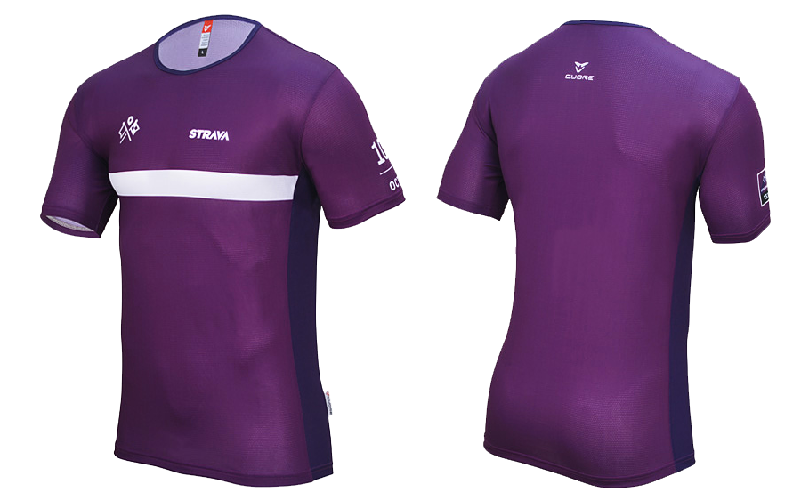 Strava races tech tee for October. Cycling Accessories ae609b0ad