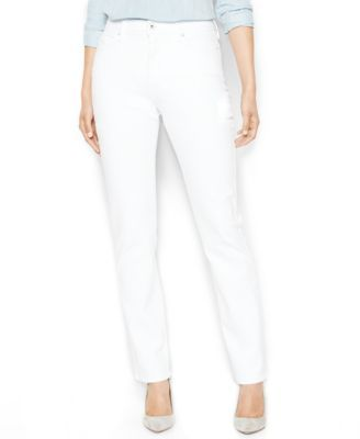 Levi's Petite 512 Perfectly Slimming Straight-Leg Jeans, Highlighter Wash