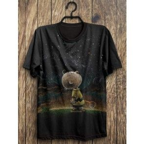 Camiseta  Charlie Brown  HEAVEN  STAR