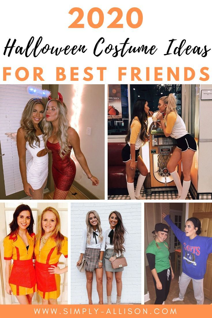 27 Unique Best Friend Halloween Costumes That are