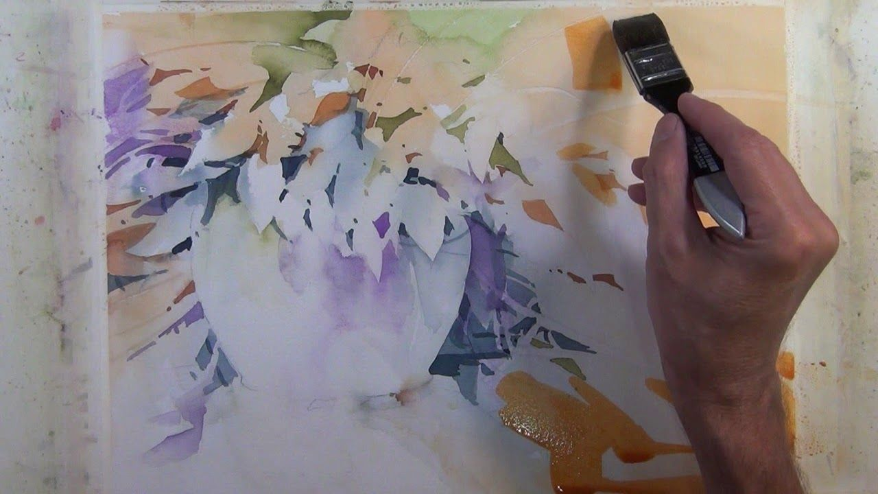 Transparent Watercolor Step By Step Narrated Tutorial Lively