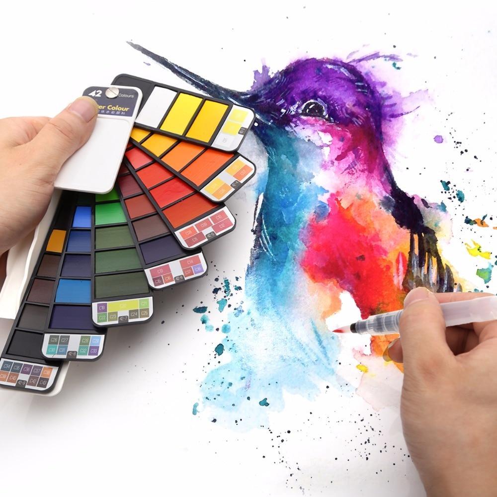 Nomadcolor Portable Watercolor Kits Watercolor Paint Set