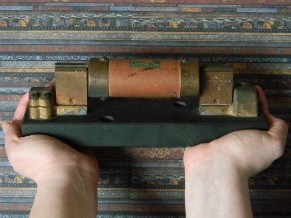 [SCHEMATICS_4CA]  Giant Antique Bryant Fuse Block With Thick Slate Base and Huge Union Fuse -  Massive Steampunk Part   Fuses, Antiques, Curiosity shop   Vintage Miners Fuse Box      Pinterest
