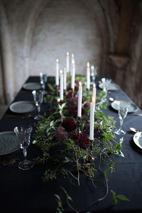 Ätherische Winter-Hochzeits-Inspiration   – Alexis' Wedding