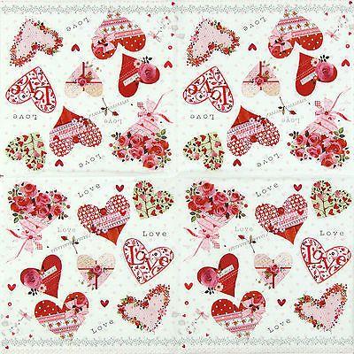 Craft Paper Pink World Mix 4x Paper Napkins for Decoupage Decopatch Craft Art & Craft Supplies