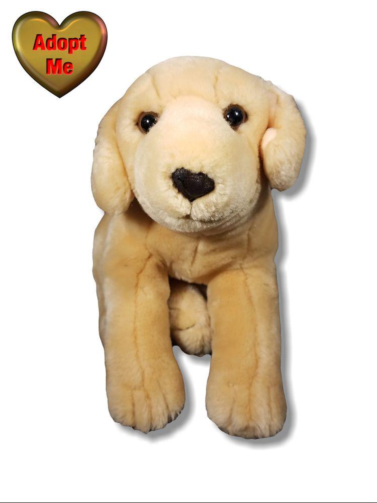 Kids Preferred Yellow Labrador Retriever Lab Puppy Dog Stuffed Plush
