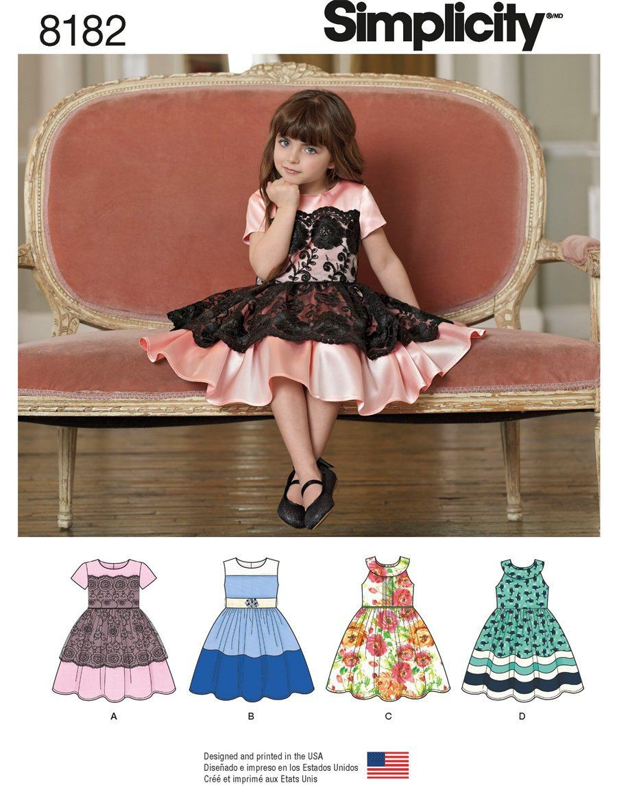 Sweet Child S Party Dress Lace Overlay Piped Bodice Etsy Childrens Party Dresses Kids Party Dresses Sewing Dresses