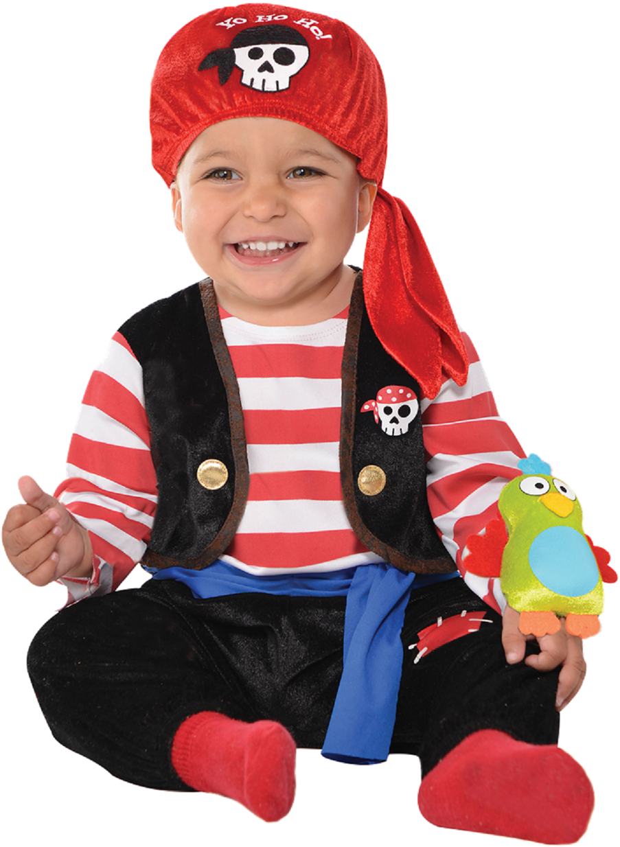 7afe6b7d9 Baby Pirate Fancy Dress Costume. Perfect outfit for your little girl or boy  this Halloween, carnival, book day or pirate themed birthday party.