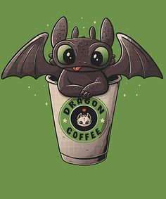 Dragon Coffee from Qwertee | Day of the Shirt