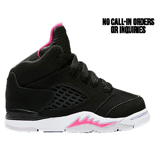 new product e8c07 56936 Jordan Retro 5 - Girls' Toddler at Kids Foot Locker | Little ...