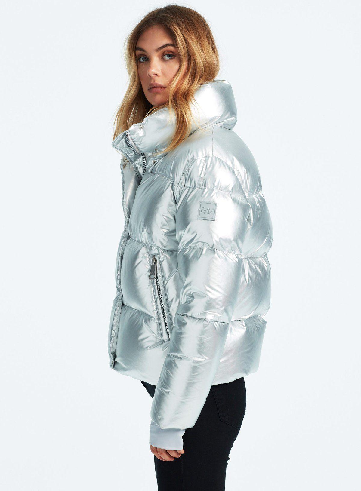 Andi Silver Ice Puffer Jacket Women Outerwear Women Silver Puffer Jacket [ 1633 x 1200 Pixel ]
