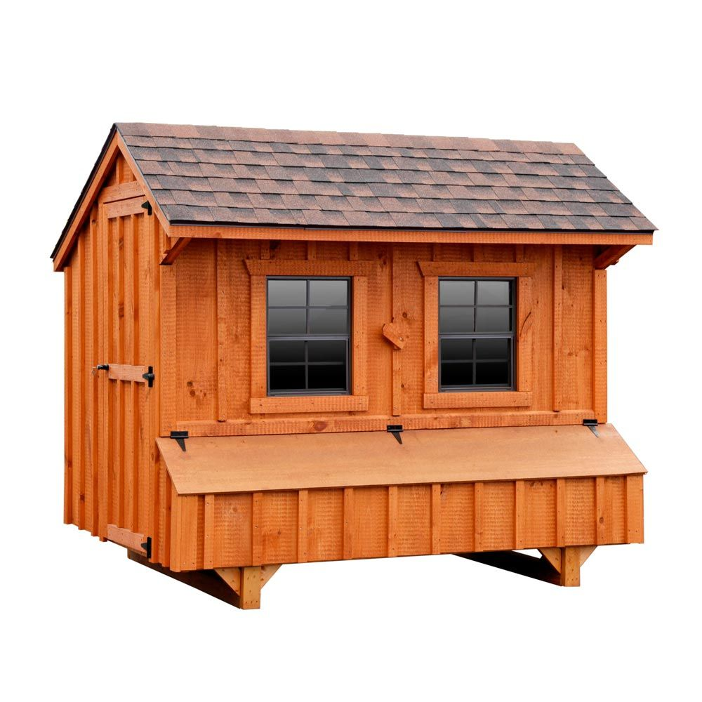 craftsman 5x8 chicken coop up to 24 chickens pet chickens