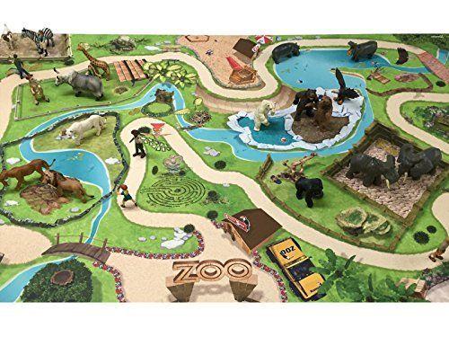 Amazon.de Tierpark / Zoo Spielmatte (Spielteppich) für