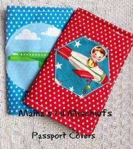 Fabric Passport Covers