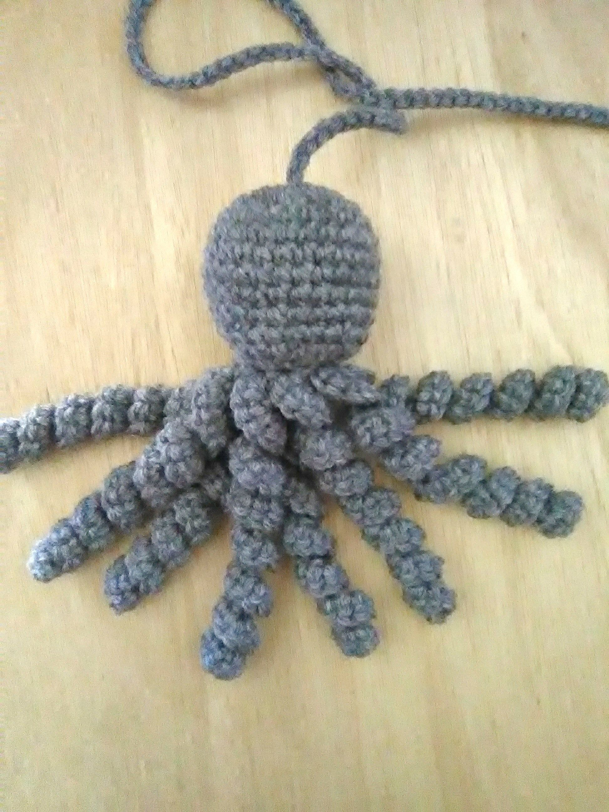 Octopus cat toy, crochet octopus cat toy, crochet catnip octopus, catnip octopus cat toy, catnip cat toys, catnip cat toy on a string,