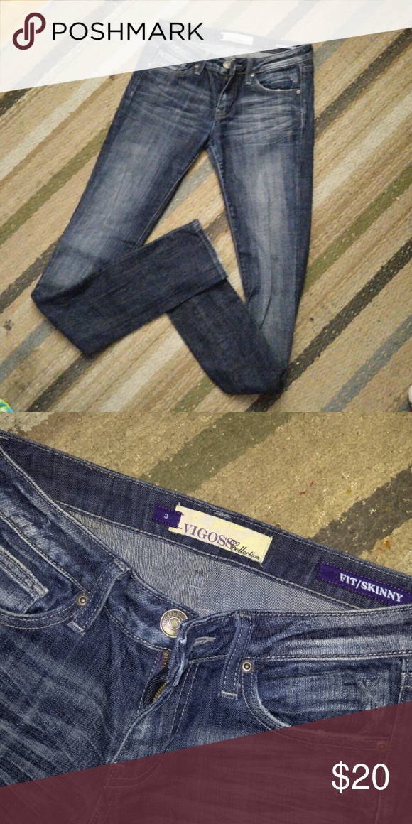 Vigoss skinny jeans Great condition. Longer in length. Size 3 Vigoss Jeans Skinny