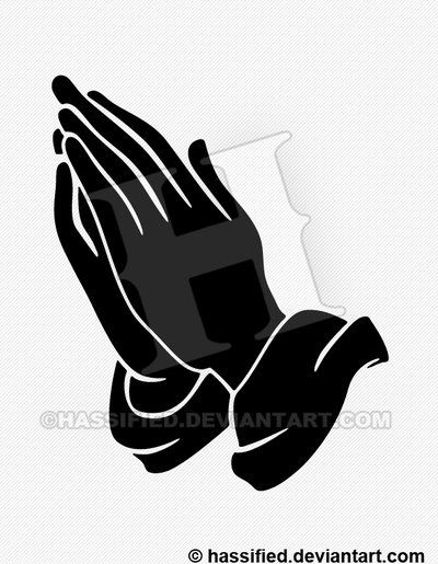 Created By Michael Scott Hassler A K A Hassified Hand Designed In Photoshop And Or Illustrator Using A Huio Hand Silhouette Praying Hands Prayer Hands Drawing