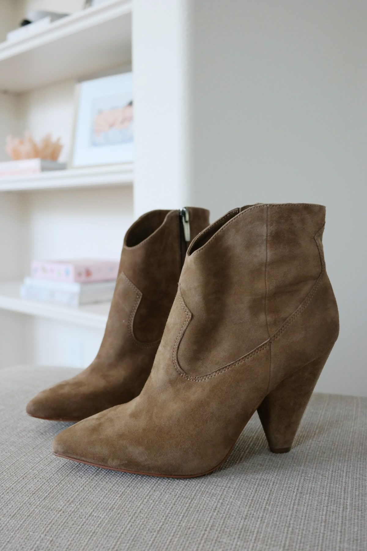 c833838bf5a Vince Camuto Movinta Bootie Treehouse Suede Color