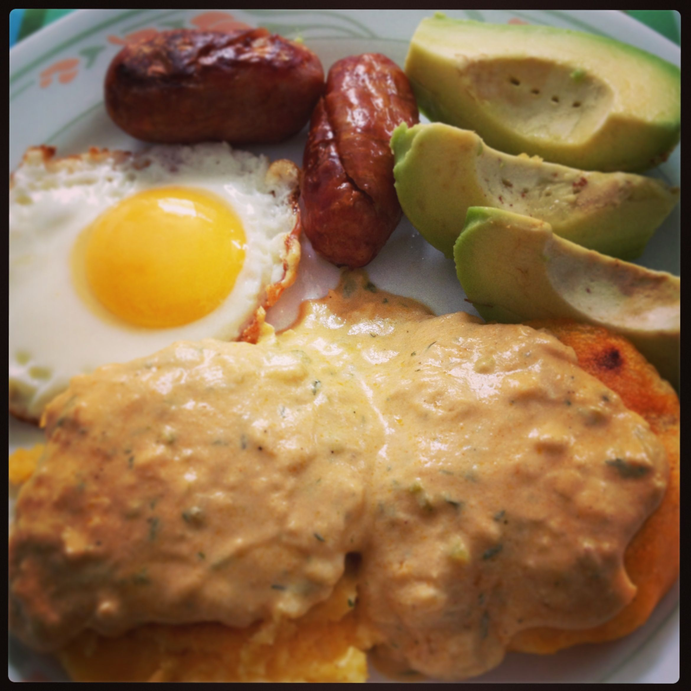 Traditional Ecuadorian Breakfast Dishes: Yapingacho @ My Mom's House! Traditional Ecuadorean Dish